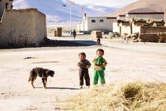 Tybetańscy ludzie Obraz Royalty Free