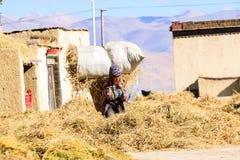 Tybetańscy ludzie Obrazy Stock