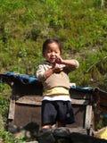 Tybetańscy uchodźców dzieci od Tybet w uchodźcy centrum Darjeelin obraz royalty free