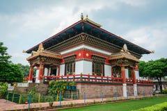 Tybetańska świątynia lokalizować w Agra, India Obrazy Stock