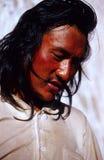 Tybetański mężczyzna Obraz Royalty Free