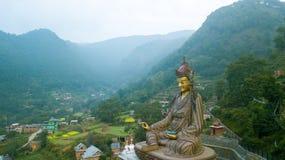 Tybetański monaster, Kathmandu dolina Nepal, Październik, - 17, 2017 Fotografia Stock