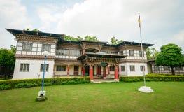 Tybetański monaster lokalizować w Agra, India Obraz Royalty Free