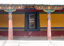 Tybetański pałac Obrazy Royalty Free