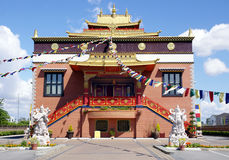 Tybetańczyka Thrangu monaster Richmond, Kanada obraz stock