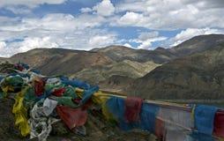 Tybetańscy himalaje Zdjęcia Stock