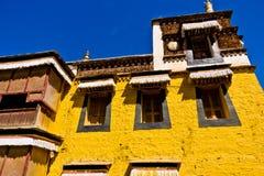 Tybetańska architektura, Labrang Lamasery Fotografia Royalty Free
