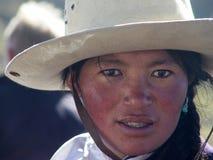 Tybetańska kobieta Fotografia Royalty Free