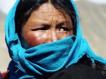 Tybetańska kobieta Fotografia Stock