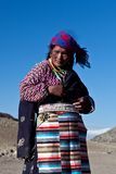 Tybetańska kobieta Zdjęcie Stock