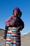 Tybetańska kobieta Obrazy Royalty Free