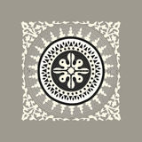 Tybetańska tradycyjna mozaika Obraz Royalty Free