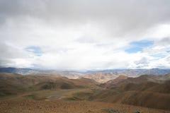 tybetańskiej krajobrazu Obrazy Royalty Free