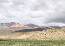 tybetańskiej krajobrazu Obrazy Stock