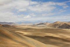 tybetańskiej krajobrazu zdjęcie royalty free