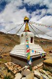 tybetańskiej stupy Obrazy Stock