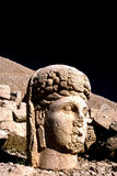 Tyche staty på Mount Nemrut i Turkiet Royaltyfri Fotografi