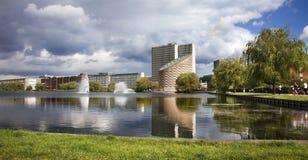 Tycho Brahes planetarium, Köpenhamn, Danmark Fotografering för Bildbyråer