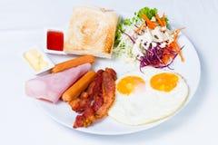 Tyck om din frukost Royaltyfria Bilder