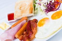 Tyck om din frukost Fotografering för Bildbyråer