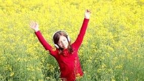 tyck om flickan little musik lager videofilmer