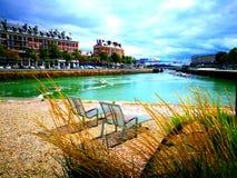 Tycka om av panoramautsikten av Frankrike Royaltyfri Foto