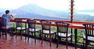Tycka om bästa sikt för härlig kulle på Bali Royaltyfria Foton