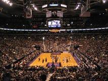 Tycka om basketmatchen i Toronto Royaltyfria Foton