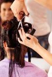 Tycka om Haircutting arkivbild