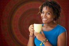 Tycka om kaffe Royaltyfri Bild