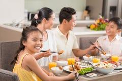 Tycka om maträtten Fotografering för Bildbyråer