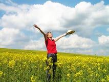 tycka om sommar Fotografering för Bildbyråer