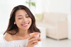 tycka om tea Royaltyfria Bilder