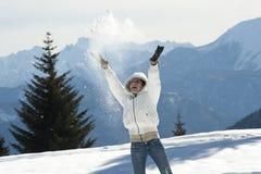 Tycka om vinter royaltyfria bilder