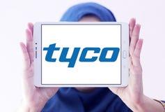 Tyco International firmy logo fotografia stock
