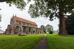 Tydd St. Giles Church, cambridgeshire Royalty Free Stock Image