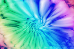 Tye dye. A swirl of clouds and colors give the effect of tye dye Royalty Free Stock Photography