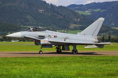 Tyfon Eurofighter royaltyfria bilder