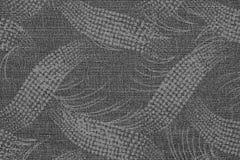 Tyg av grå färger färgar med en abstrakt modell Royaltyfri Bild