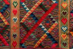 tyg från Bhutan Arkivfoton