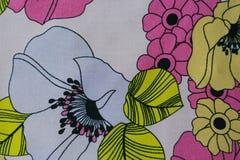 Tyg mönstrar texturerar Fotografering för Bildbyråer