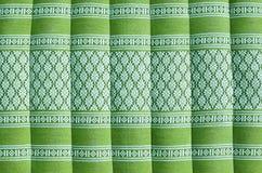 tyg mönsan thai textur Arkivfoton