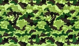 Tyg på militär kamouflage Arkivfoton