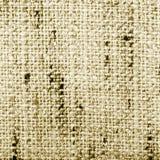 Tyg texturerar, sepia Arkivbild