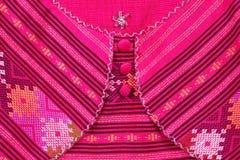 Tyg Thailand royaltyfria bilder