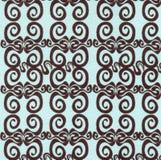 Tygbakgrund med virvlar Royaltyfria Bilder