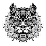Tygrys face2 Zdjęcia Royalty Free