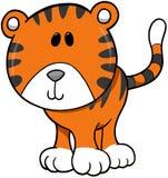 tygrys ilustracyjny wektora ilustracja wektor