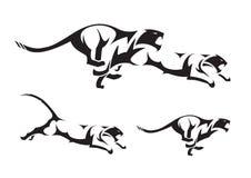 tygrys plemienny Royalty Ilustracja