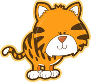 tygrys safari wektora Obraz Royalty Free
